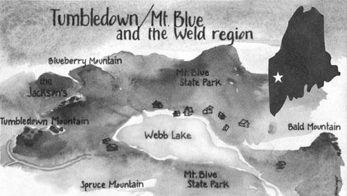 The Mt Blue Tumbledown Conservation Project A 1 8 Million